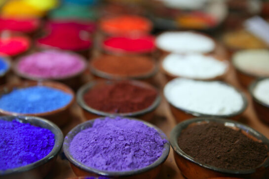 colors pigments cosmetics skincare