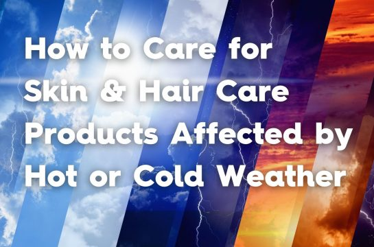 how to care hot cold weather products lotion mix