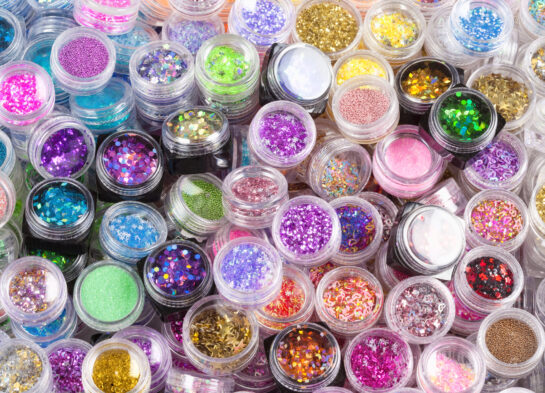 cosmetic glitter how to use make