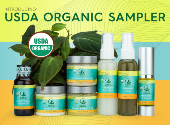 organic skin care products samples try