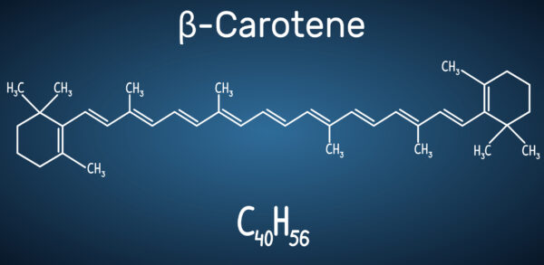 beta-carotene structure how to use in skin care