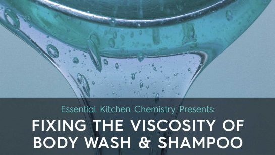 How to thicken soap, shampoo, and body wash