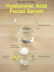how to make DIY hyaluronic acid facial serum step by step instructions