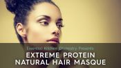 how to make protein mask for natural hair