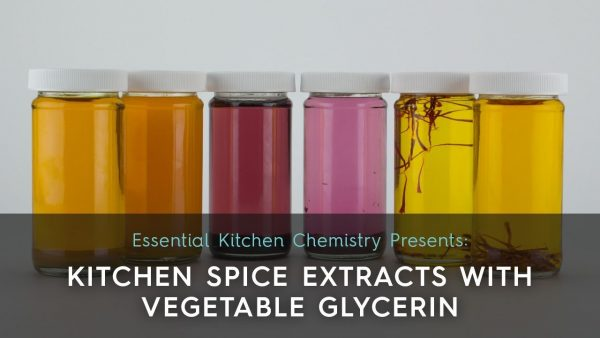 how to make glycerin extracts for skin care cosmetics DIY