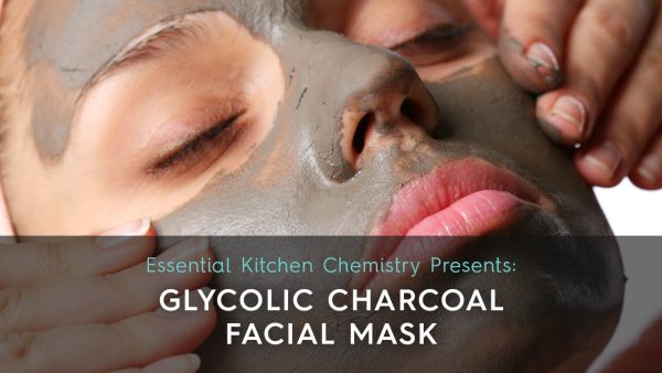 glycolic acid charcoal face mask how to recipe
