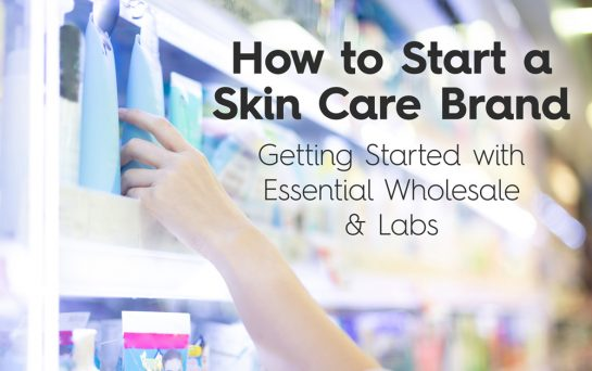how to start a skin care business brand