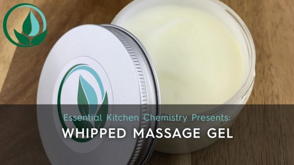 how to make whipped massage gel recipe DIY