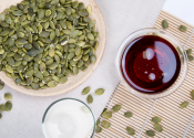 Pumpkin seed oil and squalane hair oil recipe with ingredients and directions